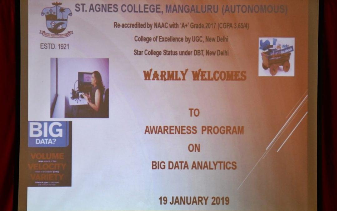 Big Data Analytics-Awareness programme