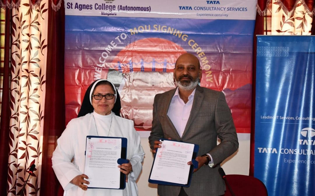 St Agnes College (Autonomous), Mangaluru signs MOU with Tata Consultancy Services to launch a new UG programme
