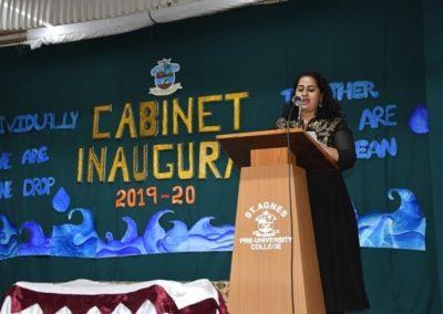 Cabinet Inaugural 2019-20