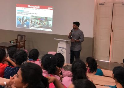 Guest talk on Career building and its importance