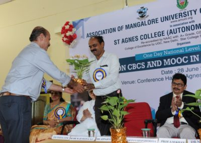 National level Seminar on 'Insights on CBCS and MOOCs in Higher Education System'