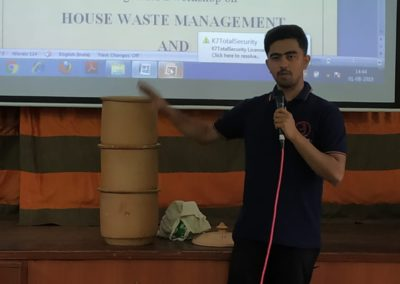 House Waste Management and Pot Compost Demonstration