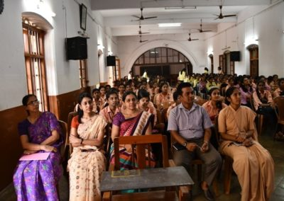 A group singing competition was held at St Agnes College