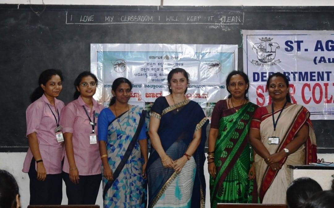 Department of Microbiology organized a seminar on Microbiology & Ayurveda