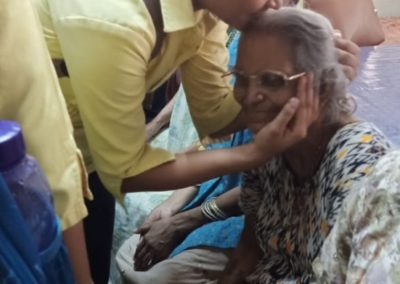 Visit to the Old Age Home