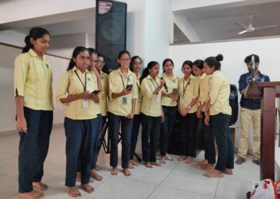 Hindi Sangh Ashram Visit