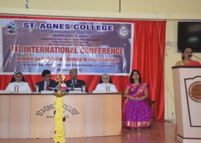 International Conference - M. Com.