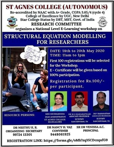 Virtual Workshop on SEM