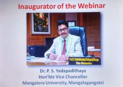 Webinar for College Faculty
