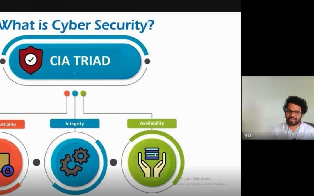 Webinar on 'Cyber Security'