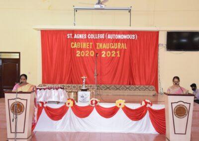 Cabinet Inaugural 2020 - 21
