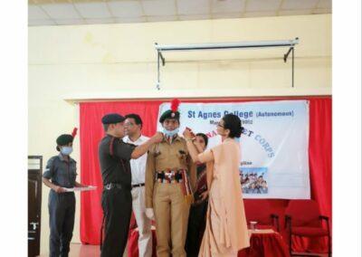 NCC Rank Ceremony