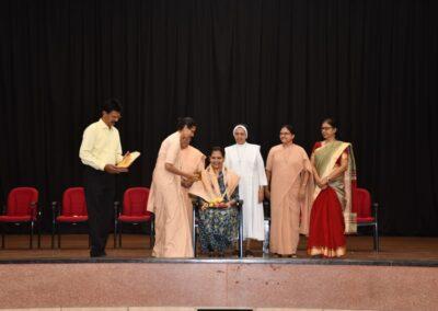 Felicitation Programme Sparsha D'Souza