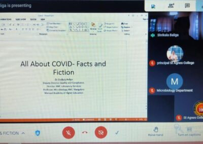 Webinar on All About Covid-Facts and Fiction