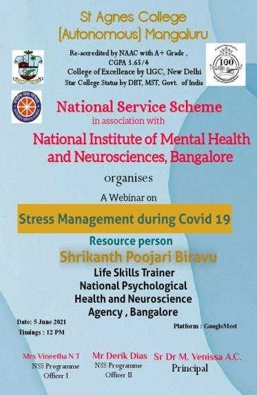 Stress Management During Covid-19