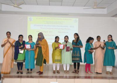 Valedictory Programme